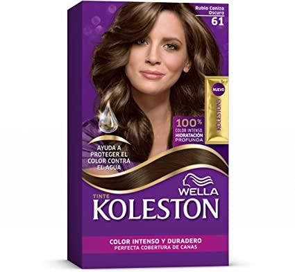 Tinte En Crema 61 Rubio Cenizo Oscuro Wella Koleston Gloss Beauty Shop